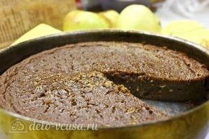 Яблочный пудинг с манкой