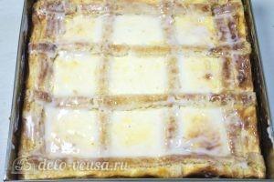 Краковский сырник: Поливаем глазурью