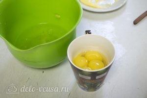 Краковский сырник: Отделить желтки