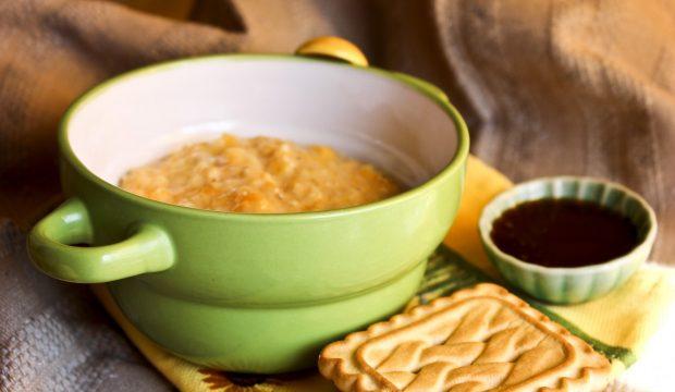 Кукурузная каша на молоке - как вкусно приготовить на гарнир и для ребенка и время готовки