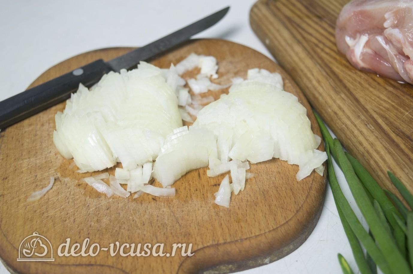рецепт обжорки с курицей и грибами