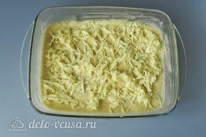 Насыпной пирог с яблоками и творогом: Трем сливочное масло
