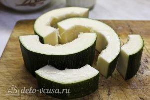 Оладьи из кабачков и картофеля: Подготовить кабачки