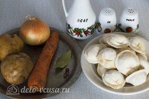 Суп из пельменей с картошкой: Ингредиенты