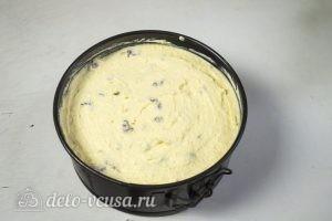 Сырник в шоколаде: Перекладываем тесто в форму