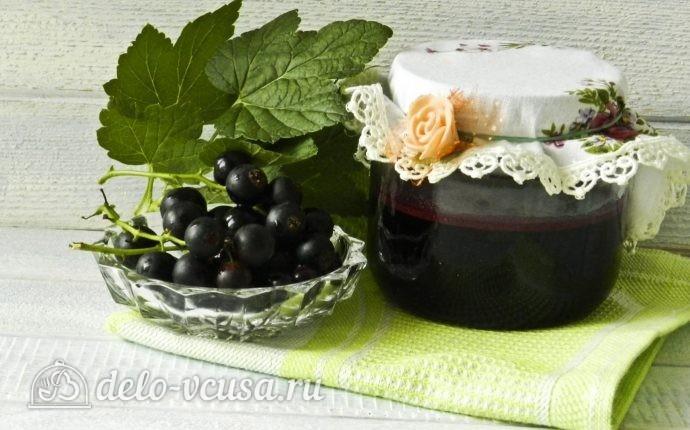 Желе из черной смородины рецепт с фото - пошаговое приготовление