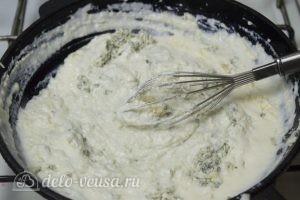 Картофельные шарики с сыром: Добавить сыр