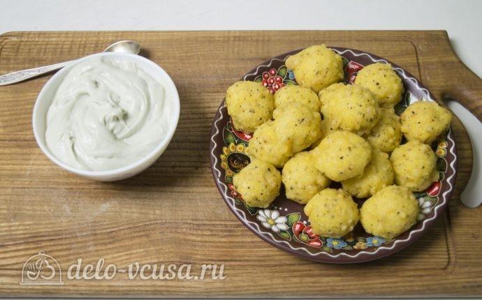 картофельные шарики рецепт с фото пошагово