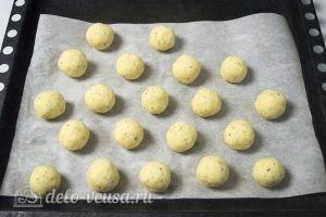 Картофельные шарики с сыром: Выпекаем шарики в духовке