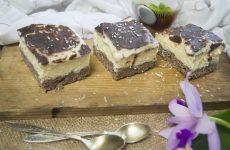 Кокосово-творожный пирог