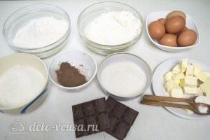 Кокосово-творожный пирог: Ингредиенты