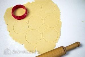 Печенье для росписи глазурью: Вырезаем печенье