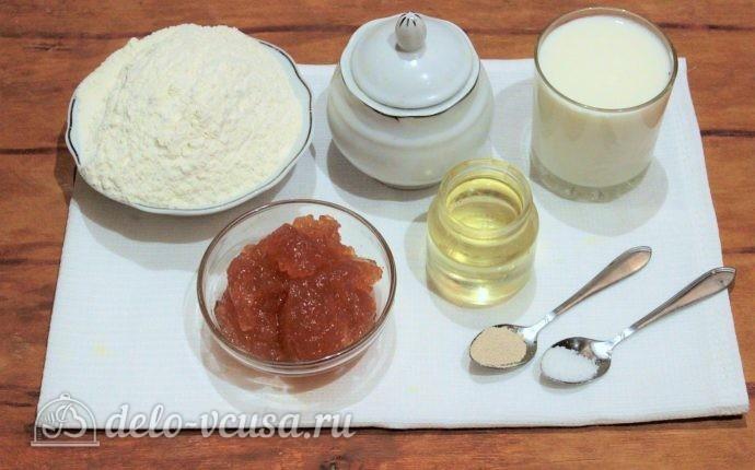 Пирожки с повидлом: Ингредиенты
