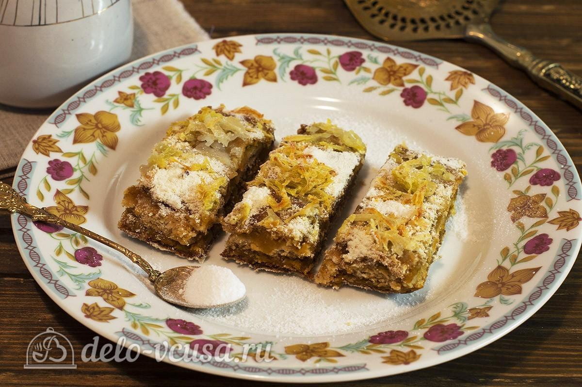 Постный тыквенный пирог рецепт с фото - пошаговое приготовление постный пирог с тыквой