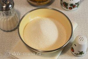 Постный тыквенный пирог: Добавляем соль и сахар