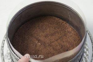 Муссовый кокосовый торт с шоколадом: Собираем торт