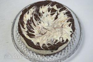 Муссовый кокосовый торт с шоколадом: Украсить торт
