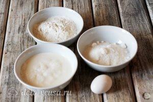 Сахарные блинчики: Ингредиенты