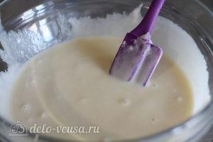 Сахарные блинчики: Перемешать тесто