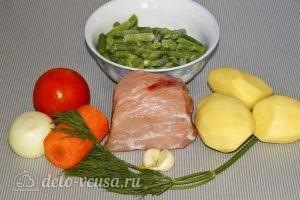 Суп из стручковой фасоли: Ингредиенты