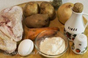 Куриный суп с клецками: Ингредиенты