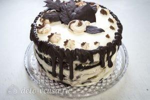Торт Черный лес: Торт отправляем в холодильник