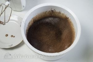 Торт Черный лес: Взбить тесто