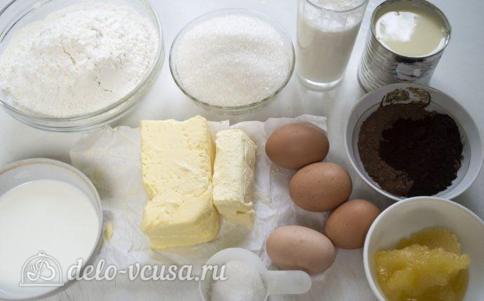 Торт Спартак: Ингредиенты
