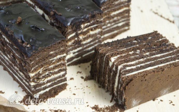 рецепт торта спартак з фото