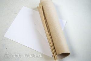 Торт Спартак: Готовим пергаментную бумагу и шаблон для коржей