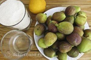 Варенье из инжира: Ингредиенты