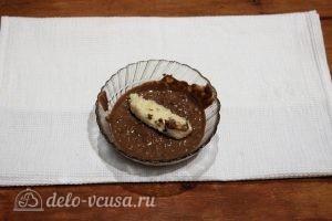Домашние баунти: Полить батончики шоколадом