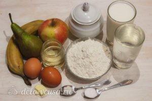 Блины с фруктовой начинкой: Ингредиенты