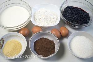 Черничный муссовый торт: Ингредиенты