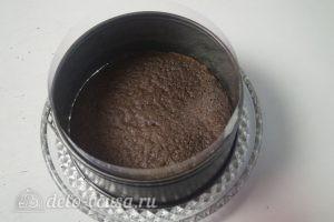 Черничный муссовый торт: Собираем торт