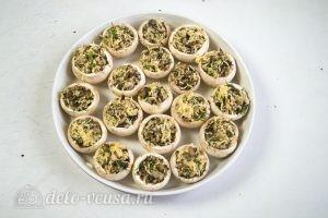 Шампиньоны фаршированные сыром: Начиняем грибы