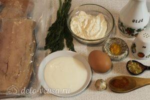 Филе горбуши в кляре: Ингредиенты