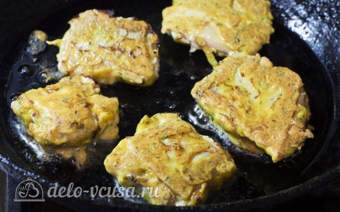 Рыба кляре горбуша рецепт фото
