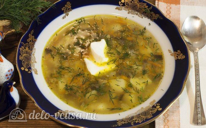 видео рецепт суп с шампиньонами и картошкой