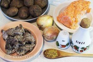 Картофельный суп с грибами: Ингредиенты