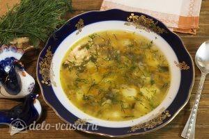 Картофельный суп с грибами: Даем супу настояться