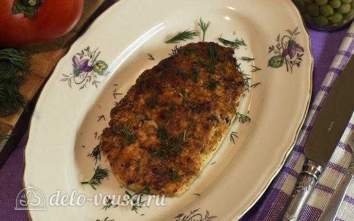 Куриное филе жареное на сковороде