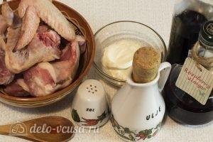 Курица в духовке под соусом: Ингредиенты