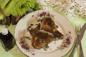 Курица в духовке под соусом: Запекаем курицу