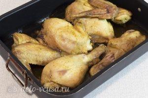 Курица в духовке с маслом: Запекать в духовке