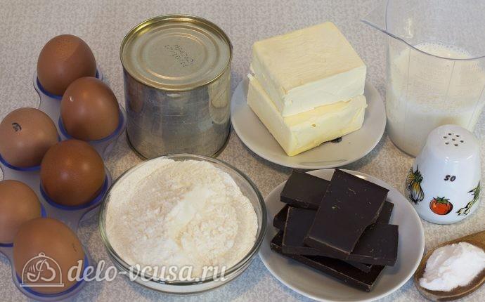 Маффины с вареной сгущенкой: Ингредиенты