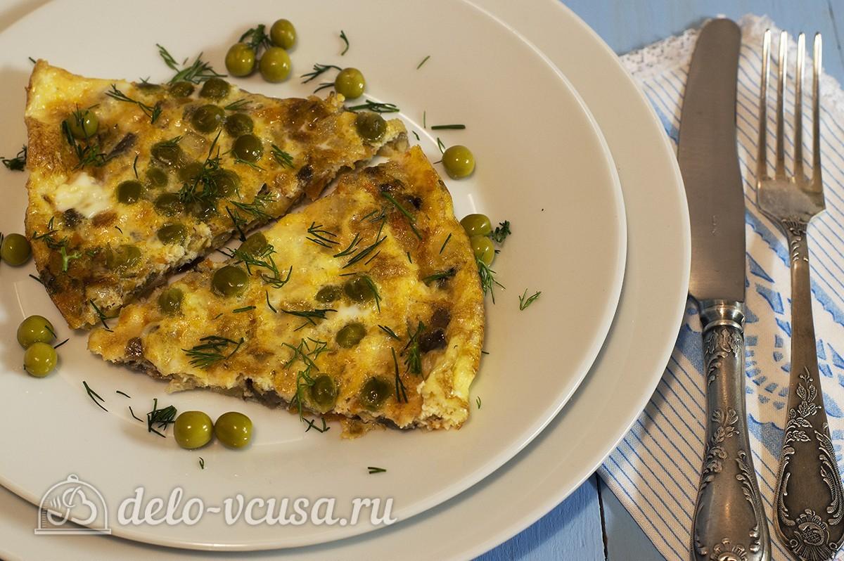 рецепт омлета с овощами в духовке с фото