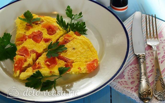 Рецепт омлет с овощами в духовке