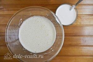 Фруктовый пирог: Добавить сметану