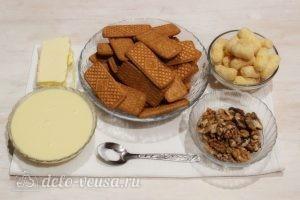 Пирожные из печенья и сгущенки: Ингредиенты